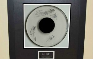 Signed Drum Heads
