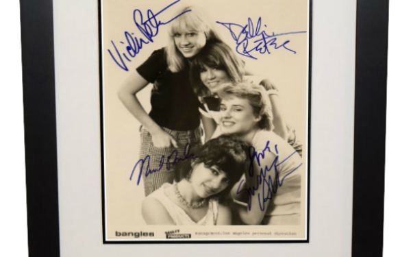 Bangles Signed 8×10 Photograph