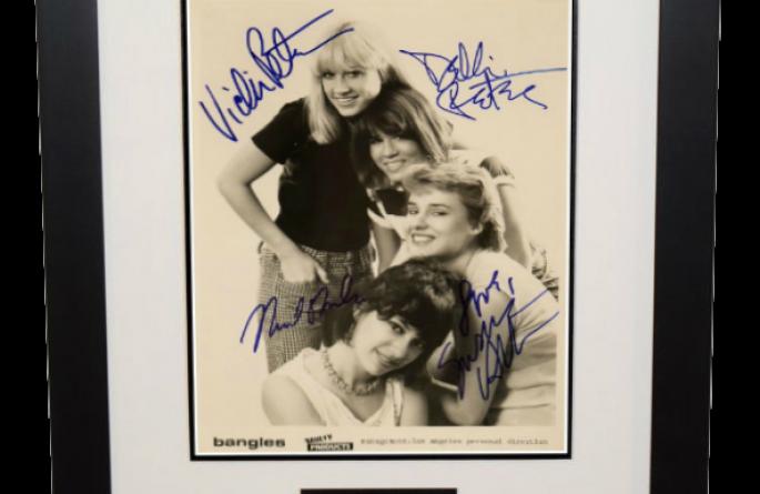 Bangles Signed 8×10 Photograph