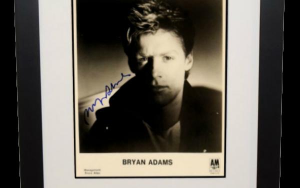 Bryan Adams Signed 8×10 Photograph