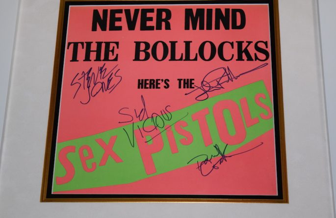 Sex Pistols – Never Mind The Bollocks