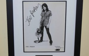 #1-Joe Perry Signed 8×10 Photograph