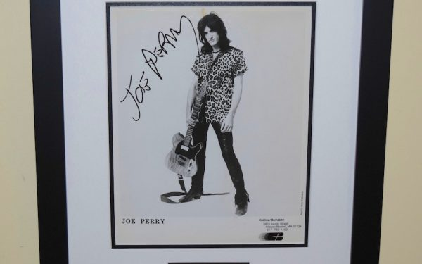 #1-Joe Perry Signed 8×10 Photograph
