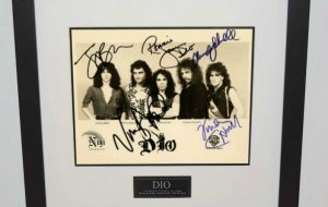 DIO Signed 8×10 Photograph