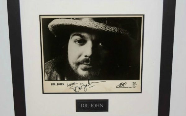 Dr. John Signed 8×10 Photograph