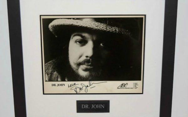 Dr. John Signed 8×10 Photograph