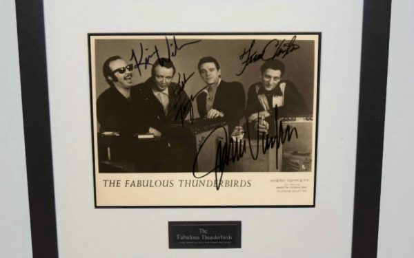Fabulous Thunderbirds Signed 8×10 Photograph