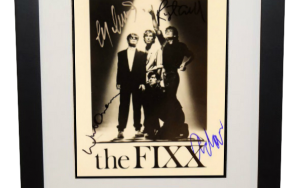 FIXX Signed 8×10 Photograph
