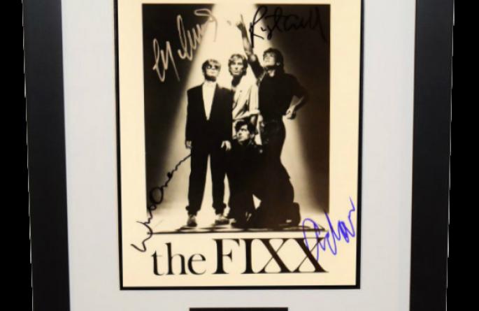 FIXX Signed 8×10 Photograph