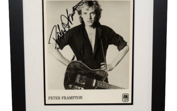 #1-Peter Frampton Signed 8×10 Photograph