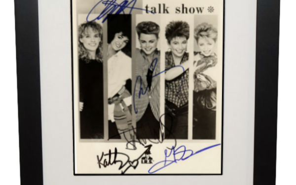 Go Go's Signed 8×10 Photograph