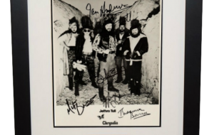 Jethro Tull Signed 8×10 Photograph