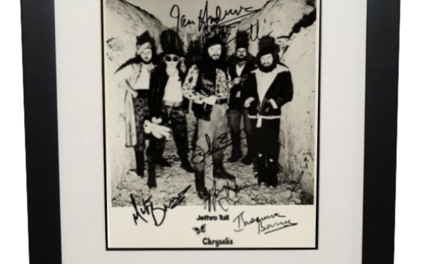 Jethro Tull Signed 8×10 Photograph