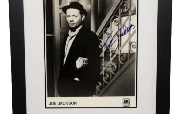 Joe Jackson Signed 8×10 Photograph