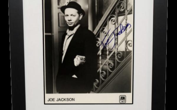 Joe Jackson Signed 8×10 Photograph