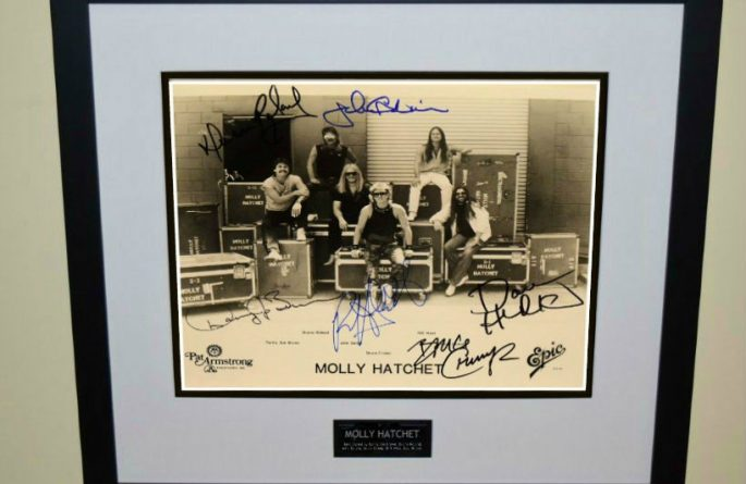 Molly Hatchet 8×10 Promotional Photograph