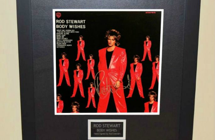 Rod Stewart – Body Wishes