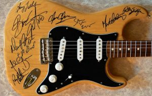 Bruce Springsteen Solid Wood Grain Fender Stratocaster