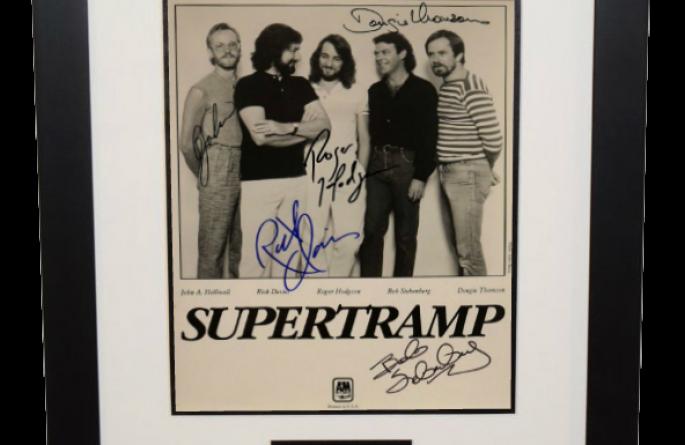 Supertramp Signed 8×10 Photograph