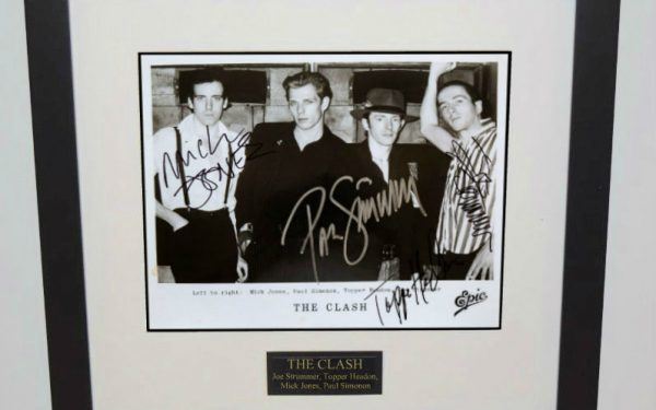 #1-Clash Signed 8×10 Photograph