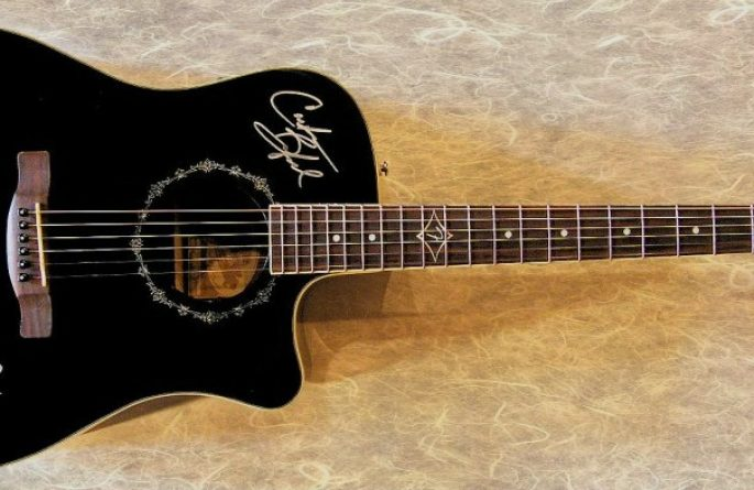 Dave Matthews Band Fender Acoustic Guitar