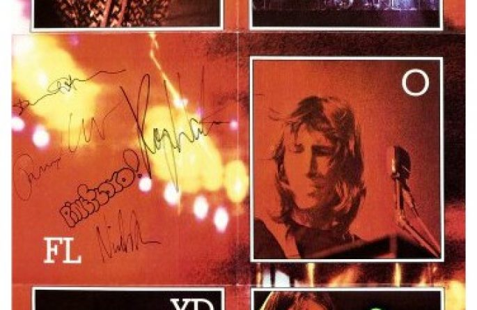 #4 Pink Floyd – Signed Poster