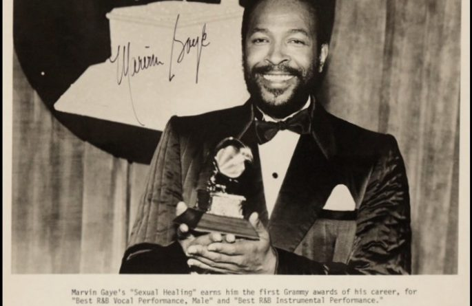#1-Marvin Gaye Signed 8×10 Photograph