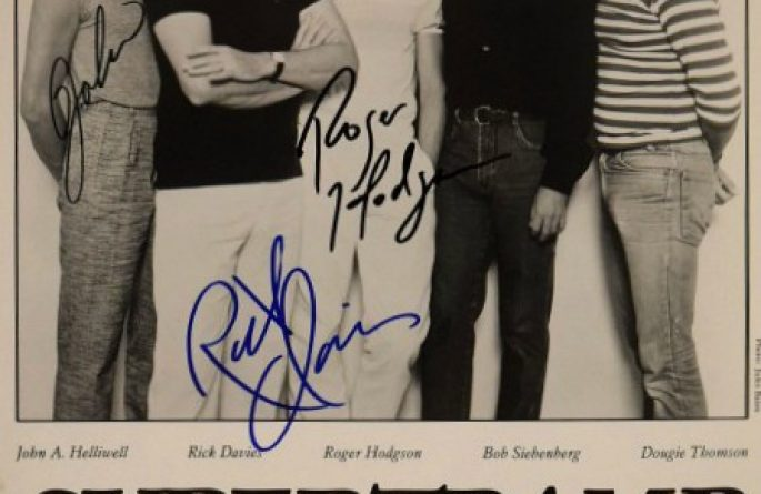 Supertramp Signed 8×10 Photograph