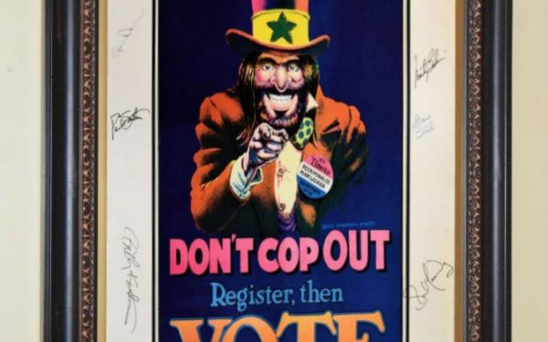 Grateful Dead & Jefferson Airplane Signed Poster