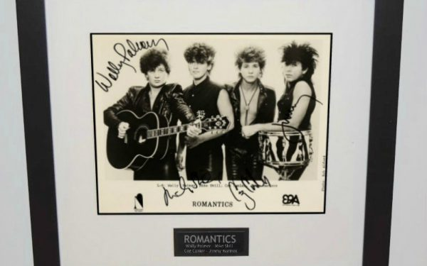 Romantics Signed 8×10 Photograph