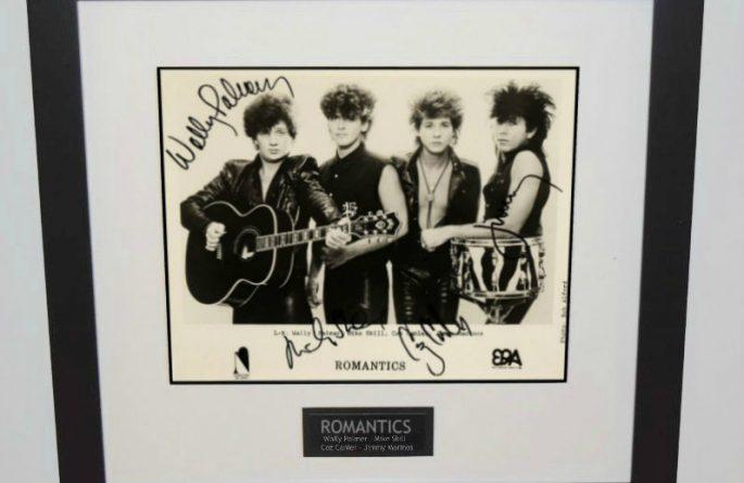 Romantics Signed 8×10 Photograph