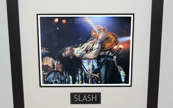 #7-Slash Signed 11×14 Photograph