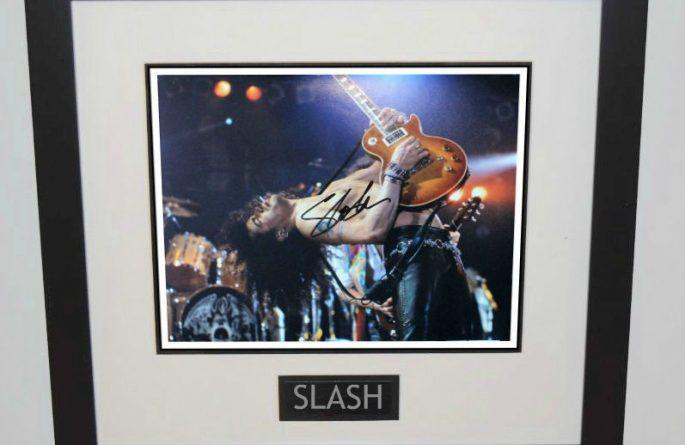 #7-Slash Signed 11×14 Photograph