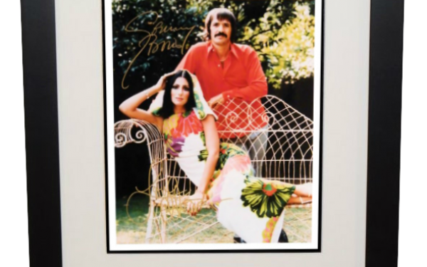 #1-Sonny & Cher Signed 8×10 Photograph