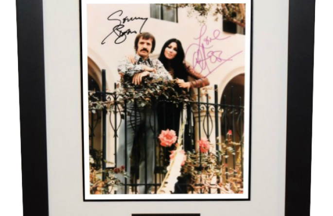 #2-Sonny & Cher Signed 8×10 Photograph