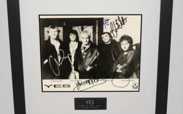 Yes Signed 8×10 Photograph