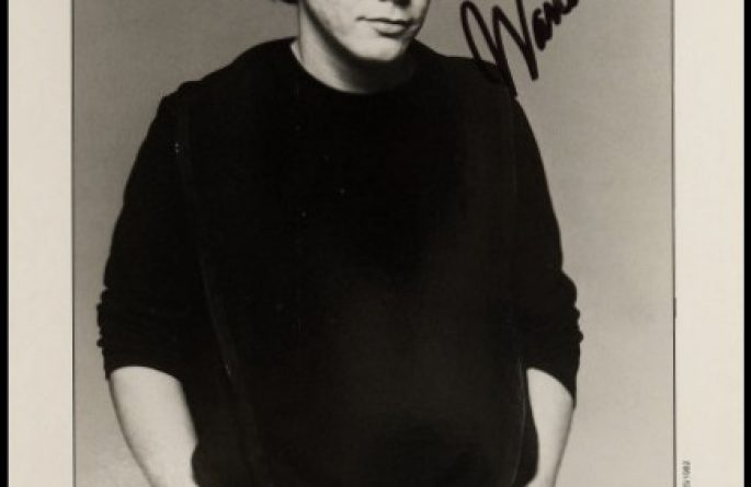 Warren Zevon Signed 8×10 Photograph