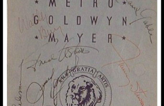 Metro Goldwyn Mayer Who's Who