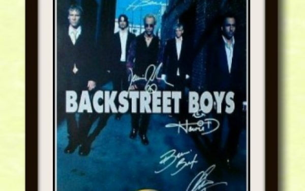 Backstreet Boys Signed Poster