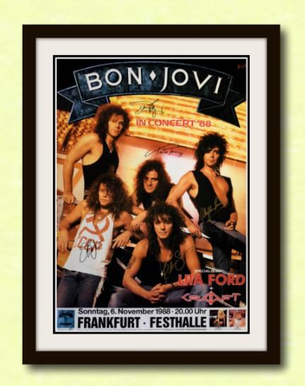 Bon Jovi David Bryan Richie Sambora Alec John Such