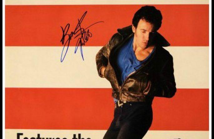 #3 Bruce Springsteen Signed Poster