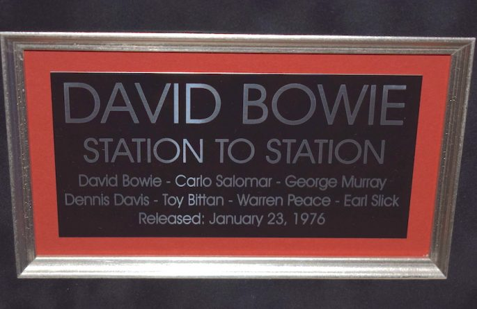 David Bowie – Station To Station