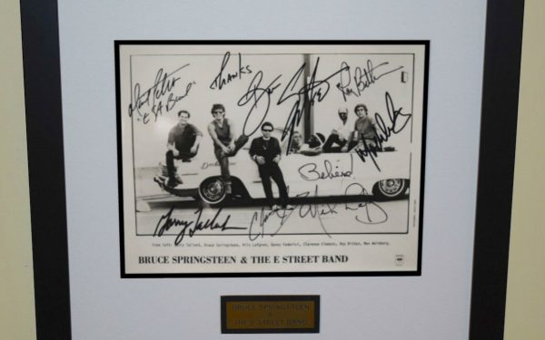 #13 Bruce Springsteen Signed 8×10 Photograph