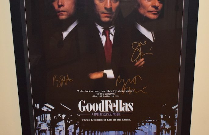 GoodFellas Signed Poster