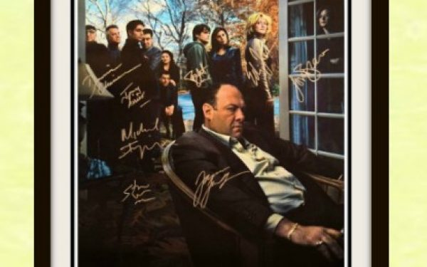 Sopranos Signed Poster