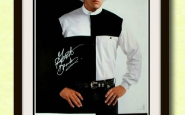 Garth Brooks Signed Poster