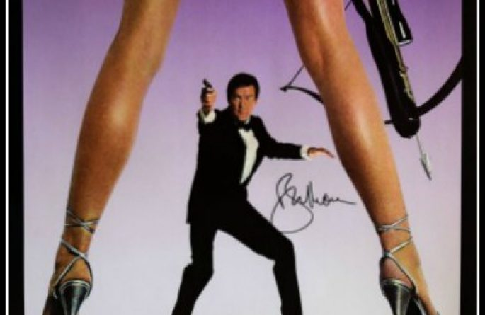 James Bond – For Your Eyes Only Signed Poster