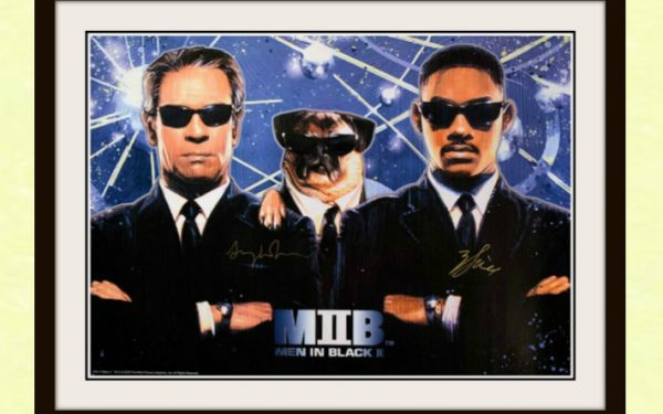 Men In Black II Signed Poster