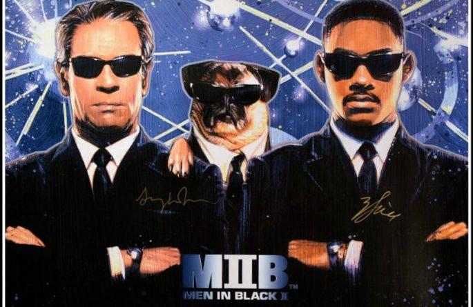 Men In Black II Signed Poster