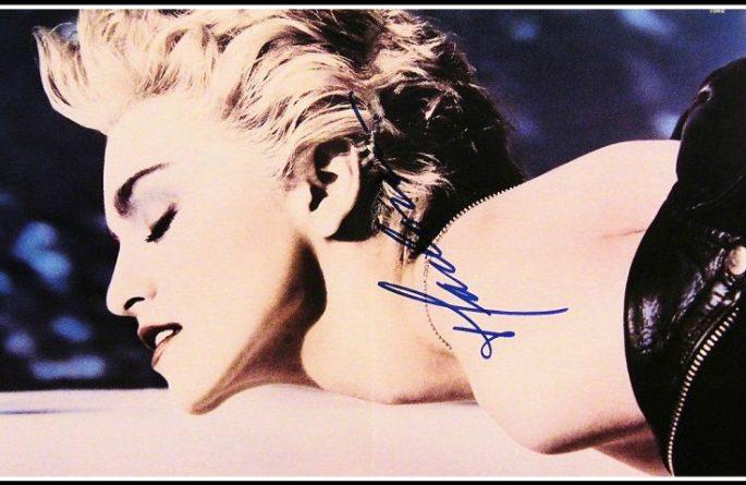 Madonna Signed Poster
